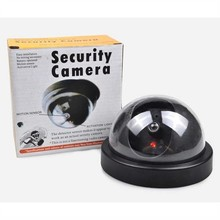 Cheaper Fake Dummy Outdoor Indoor Flashing LED Security Burglar CCTV Surveillance Camera LCC77
