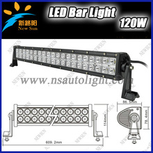 Factory price 21.5 inch 120 watt  Epsitar Offroad LED Work Light Bar ATV 40*3w Driving SUV 4x4 led work Lamp