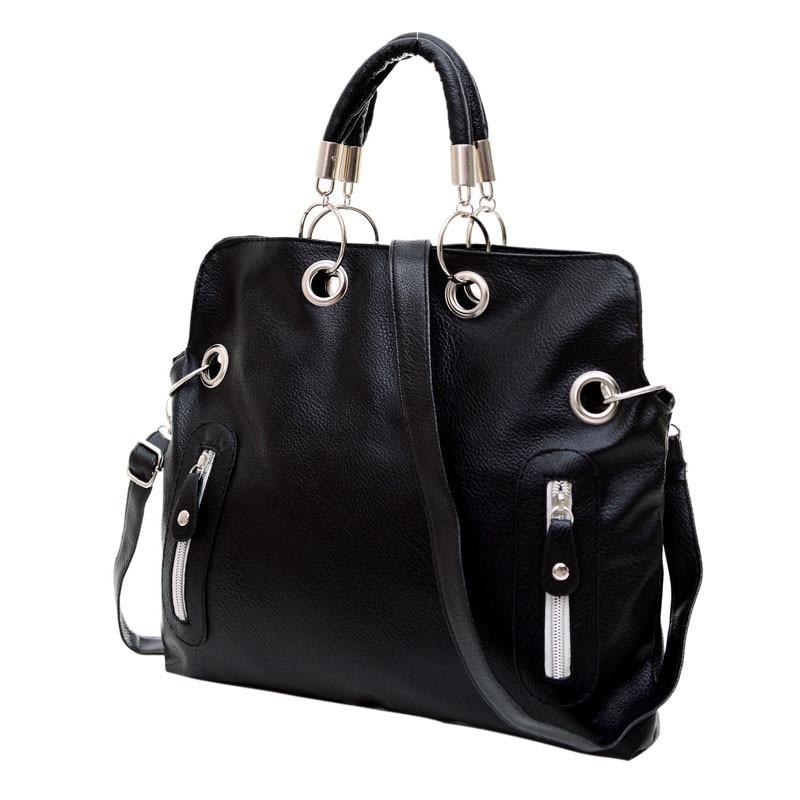 2016 New Women Fashion Leather Satchel Shoulder Bag High Quality PU Leather Handbag Cross Body Messenger Briefcase Handbag<br><br>Aliexpress