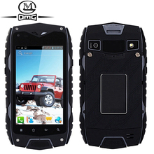 Waterproof shockproof  Mtk6572 Dual Core 3g Smartphone 4.0 inch Original Z6  Android 4.2 Dual SIM card mobile cell phone GPS