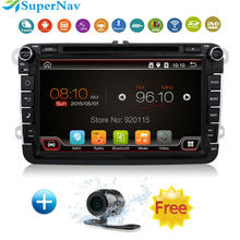 Car Navigation system for VW GOLF5 6 PASSAT JETTA TIGUAN TOURAN EOS SHARAN SCIROCCO CADDY with Bluetooth Radio DVD GPS Free map