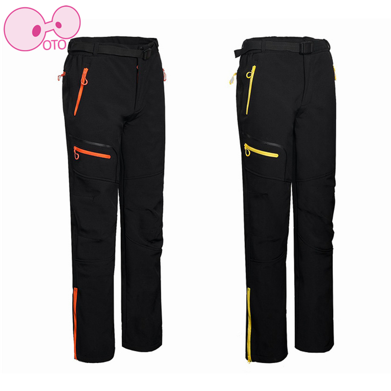 2017 Hot Sale hiking pants Mens camping Softshell Pants Fleece  Hiking Trousers Outdoor Hiking Windproof Clinbing Warm Trouser<br><br>Aliexpress