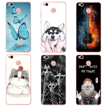 Buy Case Xiaomi Redmi 4X Cute Printing Design Xiaomi Redmi 4X Case Transparent Soft Silicon TPU Back Cover Phone Fundas capa for $1.38 in AliExpress store