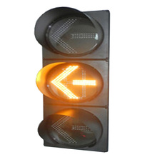 high visibility led flashing signal light yellow traffic light module