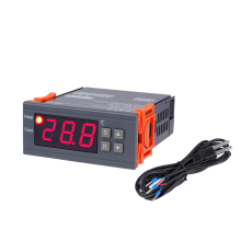Buy AC220V Digital Temperature Controller Thermocouple 20 35 Degree Breeding Thermostat Refrigeration Heating Regulator + Senser for $11.85 in AliExpress store