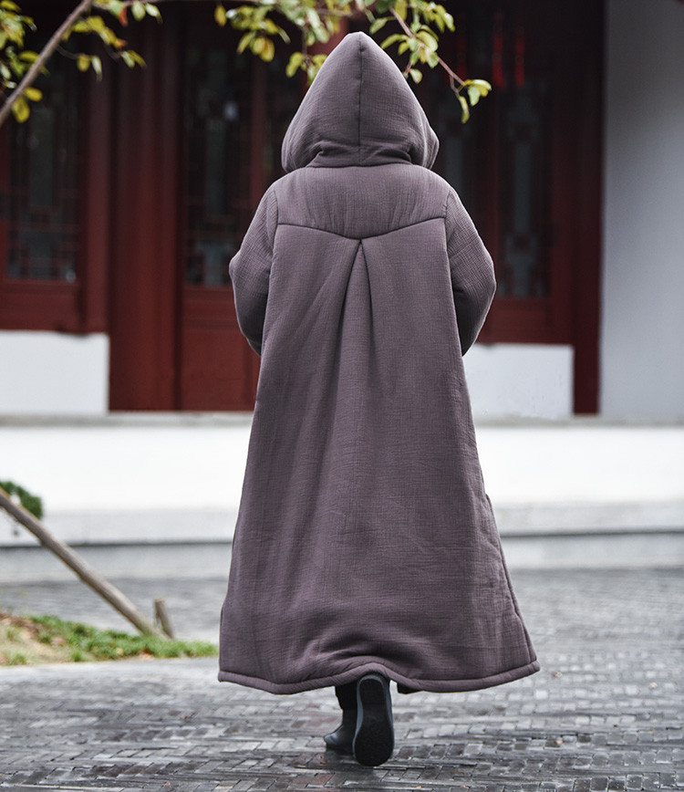 female winter hooded cape (5)