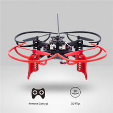 SunFounder 6DX Racing Mini Drone Nano Quadcopter 3D Flip 6 Axis Gyro 2.4G 4CH Radio Transmitter Drone Quadcopter(China)