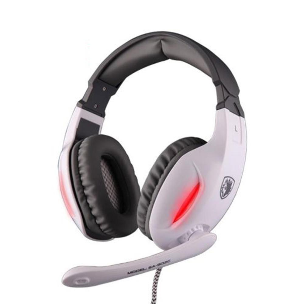 2017 SA-902C White Professional Gaming Headphone with High-fidelity Microphone Dropshipping<br><br>Aliexpress