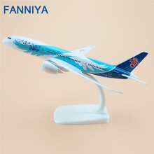 20cm Plane Model Air China Southern Airlines B787 8 B-2725 Airplane Model Boeing 787 Airways w Stand Aircraft(China)