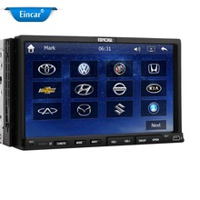 7'' GPS Car Stereo Radio DVD Video Player 2 Din Built-in Bluetooth  FM AM MP3 ipod remote control+4GB NAV map card+gps Antenna