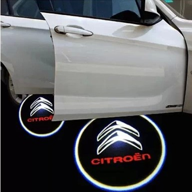 Car Styling direct supply led car projector logo lightsndoor Ghost shadow welcome light for Citroen triumph C4L<br><br>Aliexpress