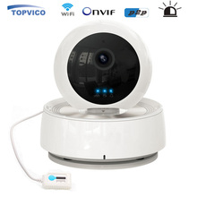 PTZ Alarm IP Camera WIFI Wireless Pan Tilt Temperature Humidity Sensor IR LED 720p P2P Cam Home Security CCTV Camera