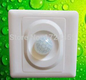 Home LED light PIR Infrared Motion Sensor Switch Human Save Energy Motion Automatic Module Light Sensing Switch<br><br>Aliexpress