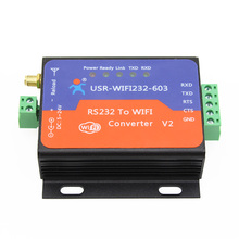 F18831 USR-WIFI232-603 V2 RS232 Wifi Wireless to Serial Server Converter Module Built-in Webpage with RS232 Terminal Interface