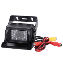 12-24v Truck Bus Lorry Car Rear View Reversing IR Nightvision Waterproof Car Rear View Camera For Bus(China)