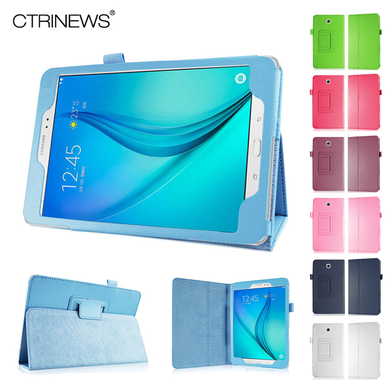 CTRINEWS Case For Samsung Galaxy Tab A 8.0 T350 Stand Leather Cover for Samsung Galaxy Tab A T350 T355 Flip Leather Tablet Cases<br><br>Aliexpress