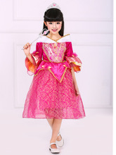 fashion designer kids wear costume for girls flare sleeve gold lace birthday dresses for children