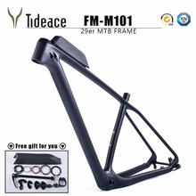 Cheap 2017 carbon mtb frame 29er Chinese full carbon frame for bicicletas mountain bike 29 carbon bicycle frameset mtb 142/135mm