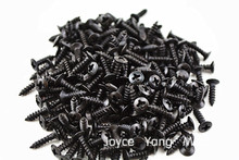 Thousand of Black Guitar Pickguard Screws For Fender Strat/Tele Electric Guitar Bass Free Shipping Wholesales