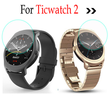For Tic Ticwatch 2 Smart watch Glass Digital Screen Protector Skin Tempered Glass Protective Film For TicWatch Tic Watch 2 2nd