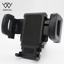 New Universal Motorcycle Phone Holder Black Stand Handlebar Clip Mount Bracket For Mobile phone PDA GPS MP4 phone accessories(China)