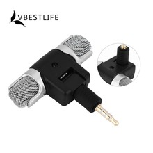VBESTLIFE Mini Mic 3.5mm Plug Jack Digital Stereo Microphone For iPhone 7 6s Plus iOS For Samsung S8 Huawei Xiaomi Android Phone(China)