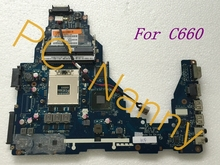 K000124370 PWWHA LA-7202P  for toshiba satellite C660 laptop motherboard HM65 GMA HD3000 DDR3 Mainboard High Quality
