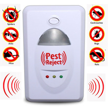 Home Ultrasonic Electronic Pest Repeller Effective Safe Insect Rodent Mosquitoes Rat Cockroaches Killer Control Pest Reject