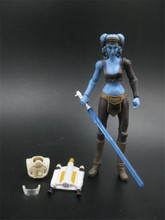Kids Movie Toy Star Wars The Clone Wars Aayla SECURA republic Jedi Knight Action Figure (bulk)