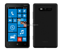 "DHL-EMS Free shipping / Refurbished Original Nokia Lumia 820 Smartphone With 8MP 4.3"" capacitive touchscreen Bluetooth Wi-Fi(Hong Kong)"