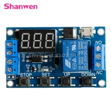 6-30V Relay Module Switch Trigger Time Delay Circuit Timer Cycle Adjustable #G205M# Best Quality