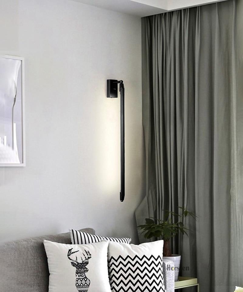 Nordic Minimalist T5 LED Wall Lamp 68cm Long Living Room Bar Bedroom Bedside Wall Lights Retro Home Decoration Lighting Fixtures 220V (14)