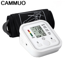 Digital LCD Upper Arm Blood Pressure Monitor Heart Beat Rate Monitor Health Care Automatic Medical Meter Tonometer Measuring(China)