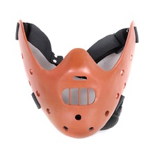 The Theme Film Movie The Silence of the Lambs Mask Masquerade Halloween Party Cosplay Hannibal Lecter Masks Costume D-010