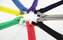 100pcs Wholesale Assorted Color Network Edge Invisible Nylon Zipper Sewing Zippers for sewing 60cm Z7(China)