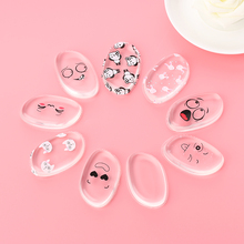 1Pc New Arrivals!!! Fashion Silicone Gel Makeup Cosmetic Powder Puff Foundation BB Cream Tool Cute Expression Beauty