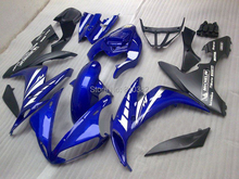 Compression mold Fairing kit for YZFR1 04 05 06 YZF R1 2004 2005 2006 YZF1000 COOL Blue black Fairings set+7gifts YN14