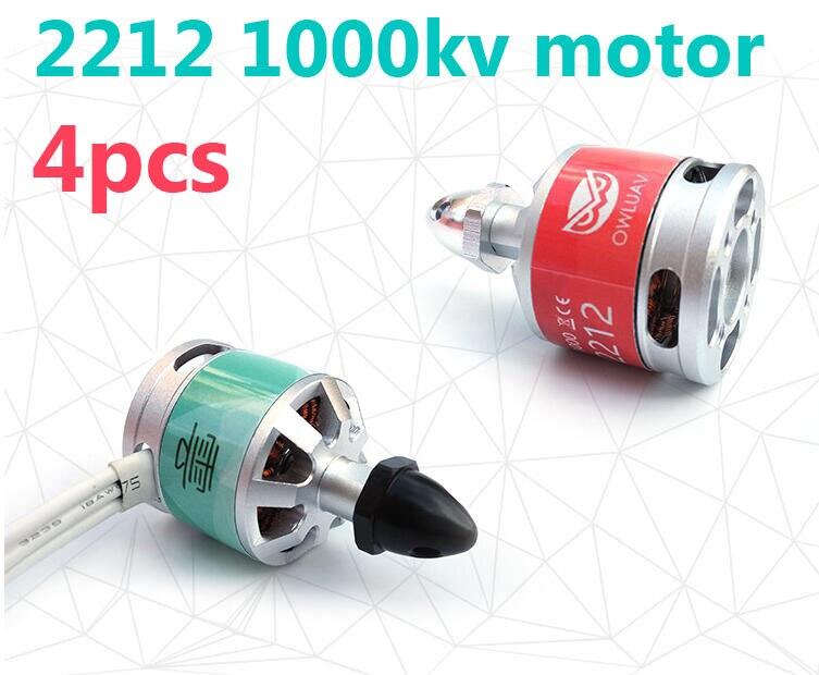 4pcs OWLUAV S380 LJI 2212 1000KV brushless self lock motors CW/CCW motors with accessories for RC Drone Quadrocopter<br><br>Aliexpress