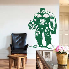 Genial Superhero Vinyl Hulk For Kids Rooms Wall Sticker Waterproof Home Decoration  Bedroom Living Room Art Decor
