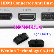 5000PCS/LOT Free shipping HDMI Connector Anti Dust Stopper Cover for Laptop Desktop PC TV high quality(China)