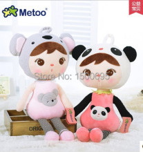 50cm New Genuine Keppel Metoo koala panda deer and candy sweet plush toy doll for children birthday party kids gift 1pcs