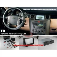 "For Land Rover Discovery 3 LR3 - Car Stereo DVD Player & GPS NAVI Navigation System + 8"" HD Touch Screen  Bluetooth iPod AUX USB"