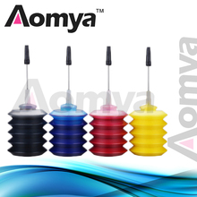 New Product!!4PCS*30ml Universal Dye Ink Refill kit For HP For Canon For Brother For Epson Printer ink 4 Color Printer K C M Y