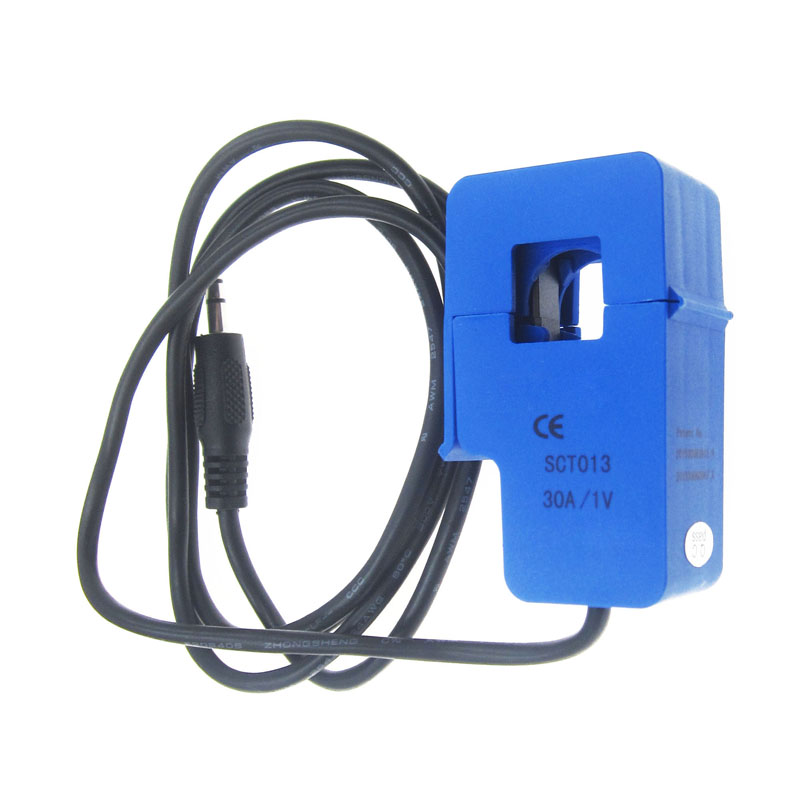 1Pcs SCT-013-030 Non-Invasive Ac Current Sensor Clamp Sensor 30A cv