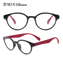 Lightweight Acetate Spectacles Round Vintage Women Glasses For Prescription Reading Glasses Clear Lenses