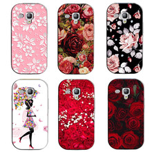 for Samsung Galaxy S 3 III S3 Mini i8190 Printed Phone Cover Case for Galaxy S 3 III S3 Mini i8190 Original Back Covers Shell