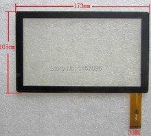 original new 7inch CZY6075E-FPC ZCC-1948 V2 BSR028-V1 digitizer All winner A13 Q88 Tablet PC 30pins 173mm*105mm(China)