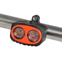 2018 Best Quality Strong Power Bicycle Front Light Owl Shaped 3 Mode Bike Lamp Cheap Price For Evening Use(China)