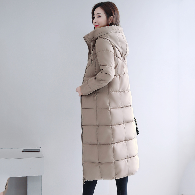 Plus Size 4XL 5XL 6XL womens Winter Jackets Hooded Stand Collar Cotton Padded Female Coat Winter Women Long Parka Warm Thicken 33