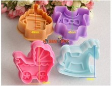 4 spring 3d three-dimensional biscuit mold trojan bottle buggiest children's clothing